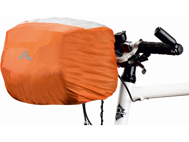 VAUDE Raincover for Handlebar Bag, orange
